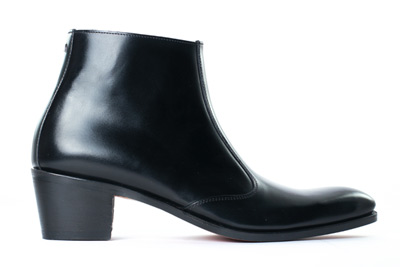 Black boots for men with high heels - OPÉRA