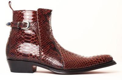 Boots Pyhton homme luxe - ABBESSES