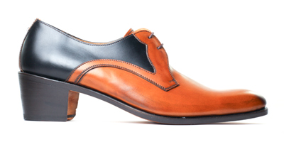 Derby shoes with high heels for men - LOUVRE