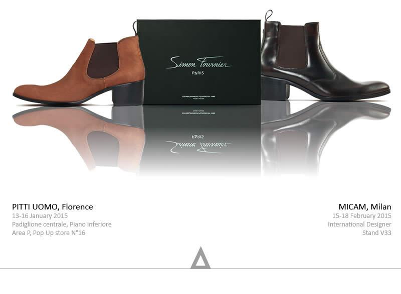 Salons de chaussures luxe homme - SIMON FOURNIER PARIS